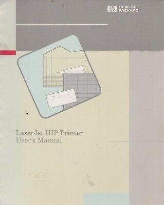 HP LaserJet IIIP Printer User  Manual Keysight Agilent