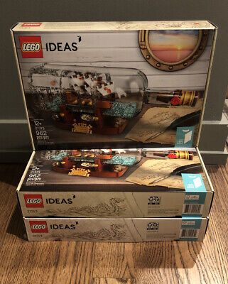 LEGO 21313 Ideas Ship in a Bottle - New Factory Sealed Set
