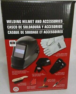 Lincoln Electric Welding Helmet Kit With Accessories Auto Darkening Kh977