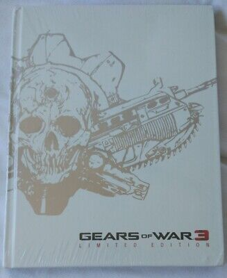 Gears of War 3 Limited Edition Official Strategy Guides Bradygames Lösungsbuch