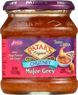 Major Grey Chutney (Chutney - Major Grey - Mild (6 - 12 OZ) )