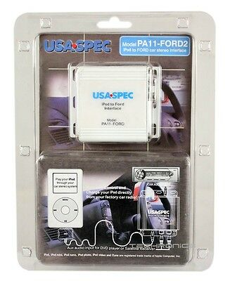 USASPEC PA11-FORD2 IPOD OEM INTERFACE FOR FORD FACTORY HEAD UNITS for sale  Gardena