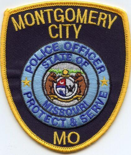 MONTGOMERY CITY MISSOURI MO POLICE PATCH