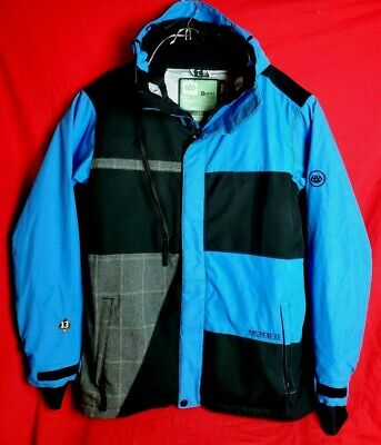 686 Men L InfiDry Ski Snowboard 10K MM Waterproof 8K GM Breathable Lucky Jacket