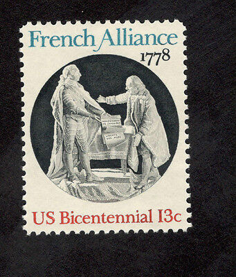 1753 French Alliance Us Single Mint Nh  Free Shipping Offer