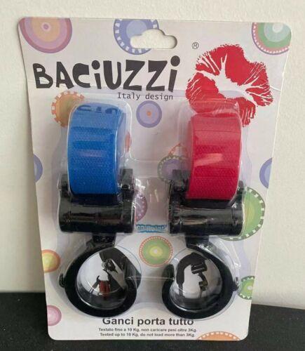 2Pcs Baby Stroller Hooks for Diaper Bag Multi Purpose Hooks Stroller Accessories
