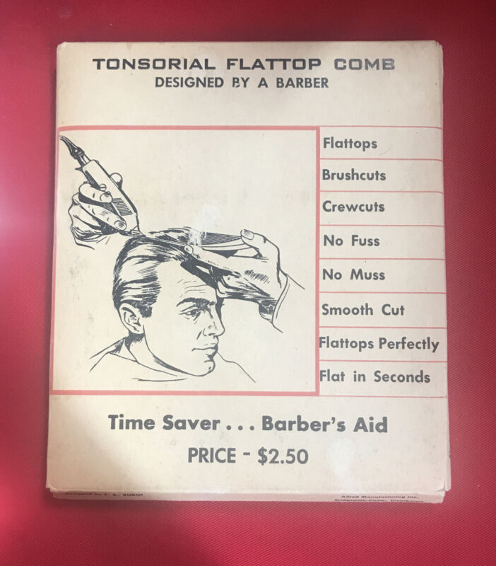 Tonsorial Flattop Comb - Designed By A Barber