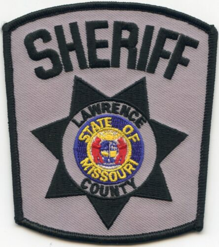 LAWRENCE COUNTY MISSOURI MO SHERIFF POLICE PATCH