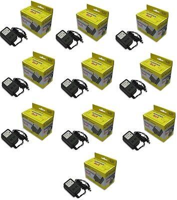 10 LOT NES SNES NINTENDO GENESIS 1 AC POWER ADAPTER NEW IN BOX