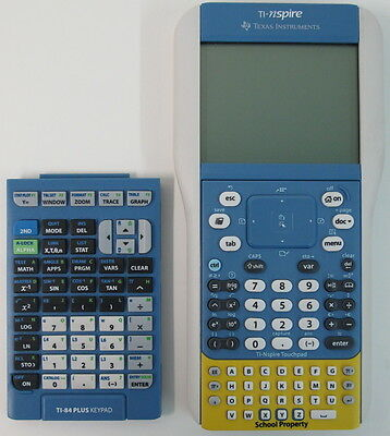 NEW 2-in-1 TI-Nspire + TI-84 Plus Hybrid Graphing Calculator Student Edition +++