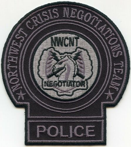 NORTHWEST CRISIS NEGOTIATIONS TEAM NORTH DAKOTA ND SWAT SHERIFF POLICE PATCH