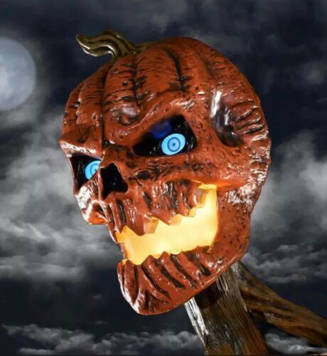 12 ft Giant Sized Pumpkin Inferno Skeleton Home Depot New