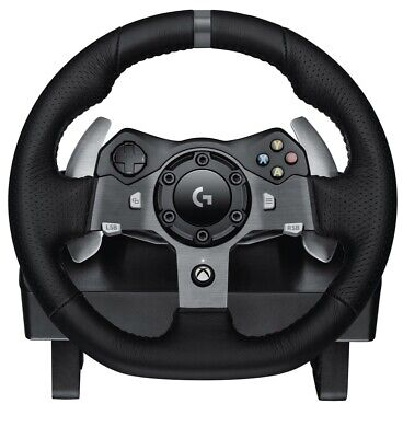 Logitech G920 Driving Force USB Racing Wheel & Pedals Black for XBox One & PC