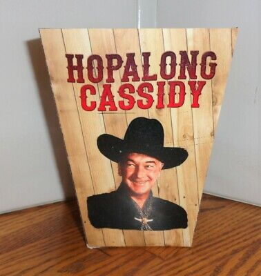 Hopalong Cassidy Popcorn Box. William Boyd......free Shipping