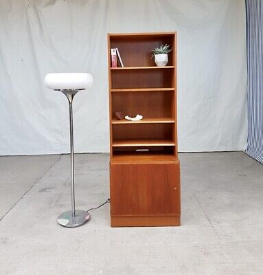 Vtg Mid Century Poul Hundervard Danish Wall Shelving Unit Bookcase Cupboard #831