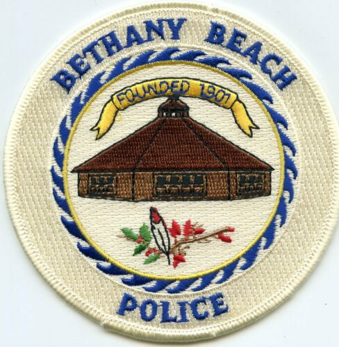 BETHANY BEACH DELAWARE DE POLICE PATCH