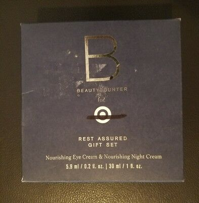 BEAUTYCOUNTER Gift Set Nourishing Eye Cream 0.2 oz & Nourishing Night Cream 1 (Night Cream Eye Cream)