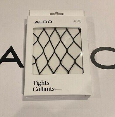 $12 ALDO COLLANTS FRAGNET BLACK NET SMALL MEDIUM S/M TIGHTS PANTYHOSE HOSIERY - Aldo Halloween