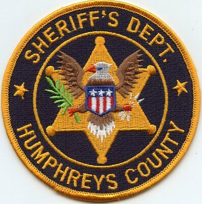 HUMPHREYS COUNTY MISSISSIPPI MS SHERIFF POLICE PATCH for sale  Atlanta