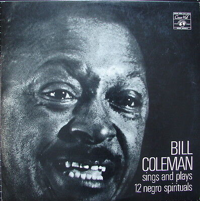 Bill COLEMAN sings and plays 12 Negro Spirituals - NM-