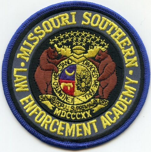 MISSOURI MO SOUTHERN LAW ENFORCEMENT TRAINING ACADEMY POLICE PATCH