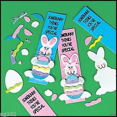 Spring Crafts For Kids (Easter Bunny Bookmark Craft Kit for Kids Spring)