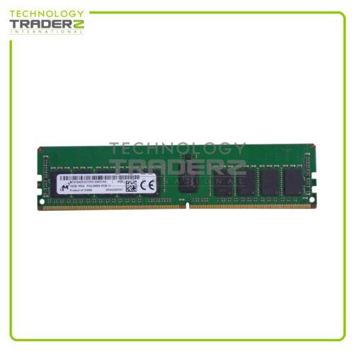 MTA18ASF2G72PZ-2G6 Micron 16GB PC4-21300 DDR4-2666MHz ECC REG 1.2V Memory Module
