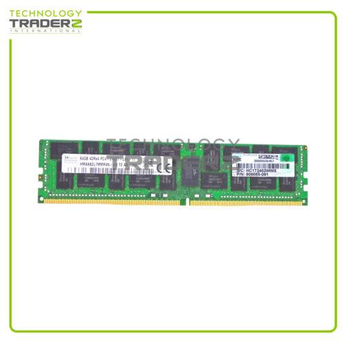 805358-B21 HP 64GB DDR4 PC4-2400T 2400Mhz 4Rx4 Memory 809085-091 819413-001