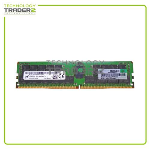 815100-B21 HPE 32GB 2RX4 PC4-2666V DDR4 ECC Reg  Memory 850881-001 840758-091