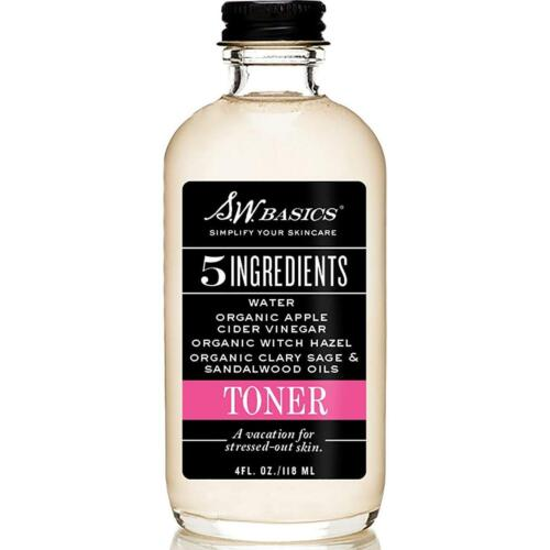 s w basics facial toner with witch