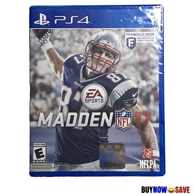New Madden Nfl 17 2017 Playstation 4 Ps 4 Video Game  New