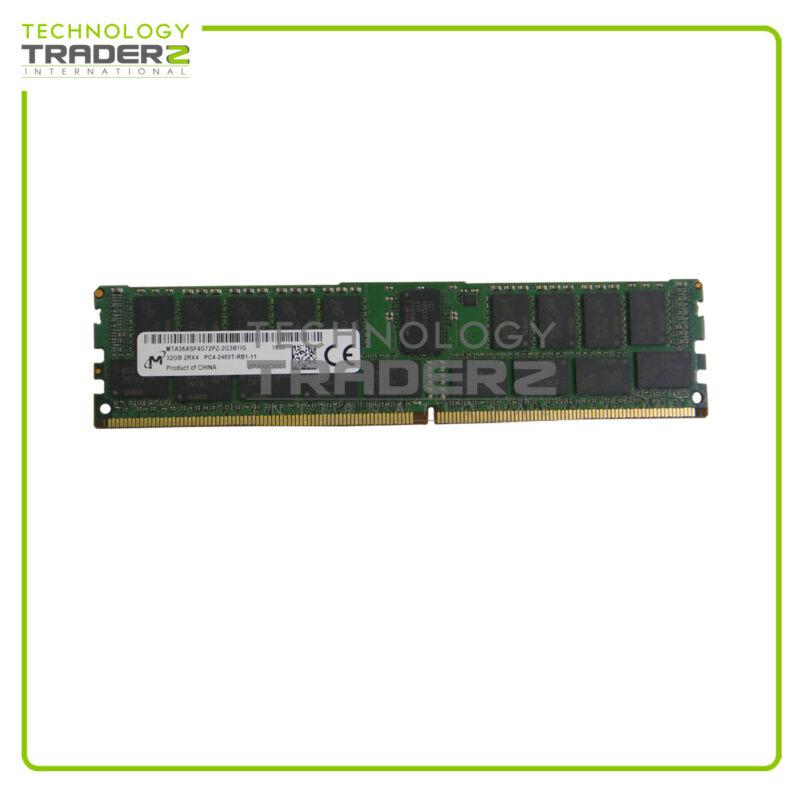 MTA36ASF4G72PZ-2G3 Micron 32GB PC4-19200 ECC CL17 DDR4-2400MHz Memory * Pulled *