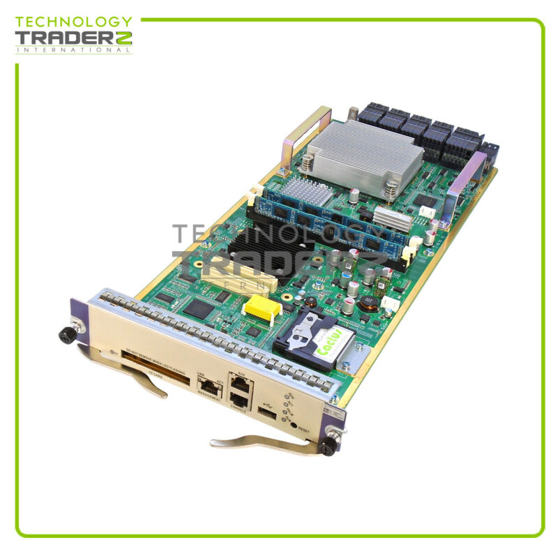 JG364A HP HSR6800 RSE-X2 Router MPU with 2x 2GB Memory and 1x JC684A