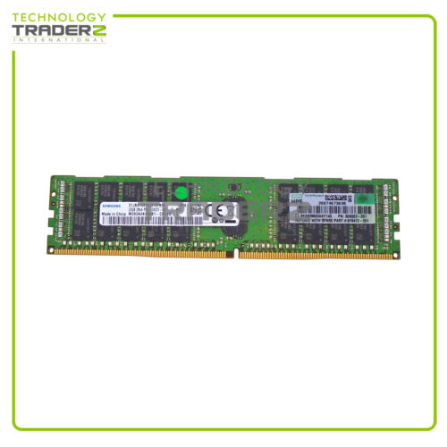 805351-B21 HP 32GB 2RX4 PC4-2400T DDR4 ECC REG Memory Kit 809083-091 * Pulled *