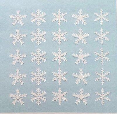 Snowflakes Christmas Holiday Variety Fingernail Art Decal Stickers Nail -