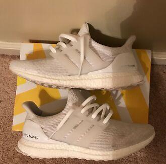 Adidas UltraBoost 3.0 White size 10