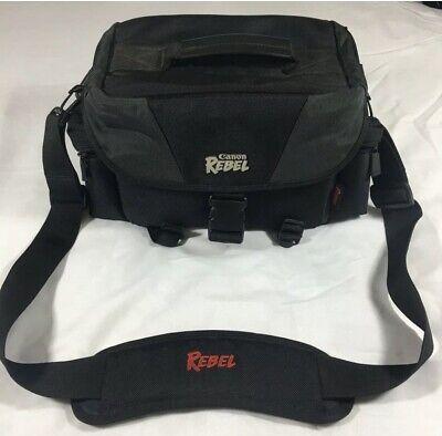 Canon Rebel DSLR Shoulder Bag Camera Carrying Case