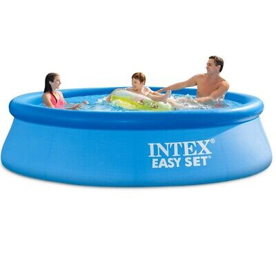 Intex 10ft X 30in Easy Set Above Ground Pool with Filter pump new SHIPS SAME DAY