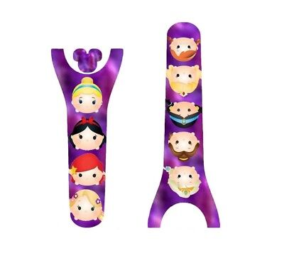 For Disney Magic Band 2 Decal Stickers Princess Friends