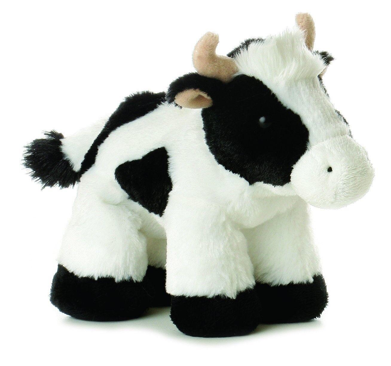 8 Mini Moo Cow Plush Stuffed Animal Toy