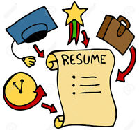 High level Resumes! We Specialize in Canadian Resumes!