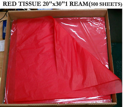 500 Sheets Red Tissue Paper Top Quality