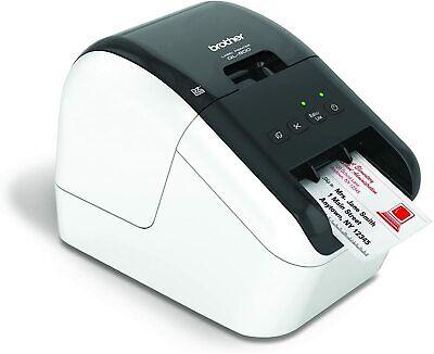 Brother Ql-800 High-speed Professional Desktop Label Printerblack Red Printing