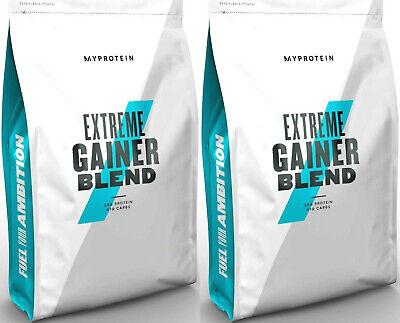 Extreme Weight Gainer (MyProtein Hard Gainer Extreme 5kg Weight Mass Gainer Cookies & Cream Pulver)