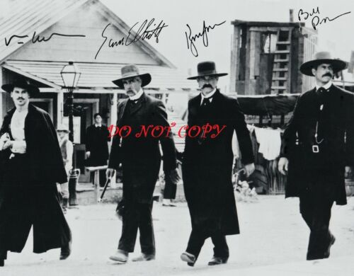 TOMBSTONE CAST - AUTOGRAPHED PICTURE SIGNED 8X10 PHOTO RP