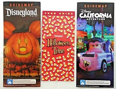 Disneyland and California Adventure Halloween Time  2018 Food Guide & Maps