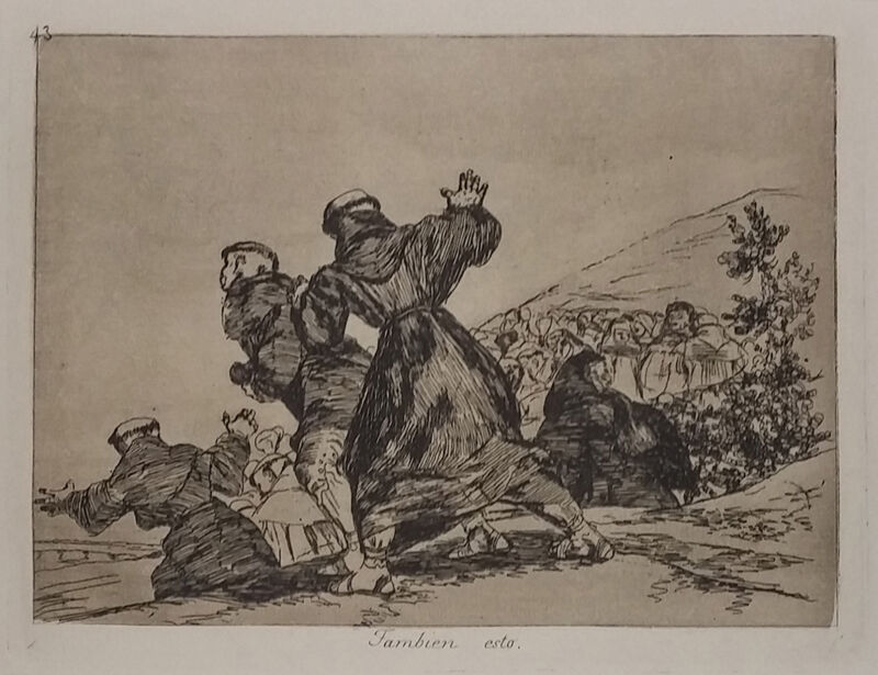 "Francisco Goya ""tambien Esto"" C.1808-1814 