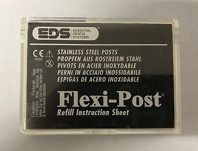 Eds Flexi-post Refill Instruction Sheet 10 Package 2 Serrated Posts 130-02