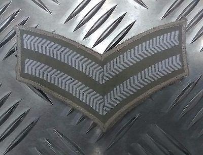 Original Britisches Militär Wüste Corporal Rank Streifen Abzeichen Patch ()