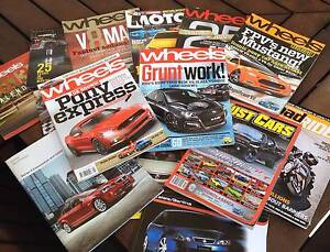 HSV & Mustang Wheels & Motor Magazines Forrestdale Armadale Area Preview